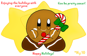 Ginger Kirby Card by water-kirby