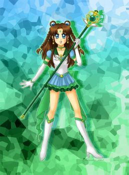 Sailor Earth by amostar