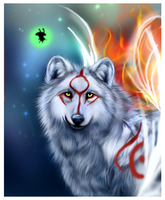 Shining light by TheMysticWolf