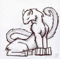 Cat Thing by Oddstuffs