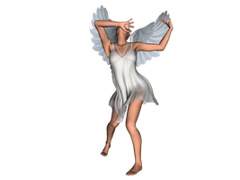 STOCK PNG angel 8 by MaureenOlder