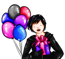 Birthday Xion by troisnyxetienne