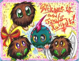 Welcome Kuribolt 8D by ManaDarkMagicianGirl