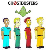 Real Ghostbusters Simpsons by butch02