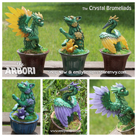 The Arbori : The Crystal Bromeliads by emilySculpts