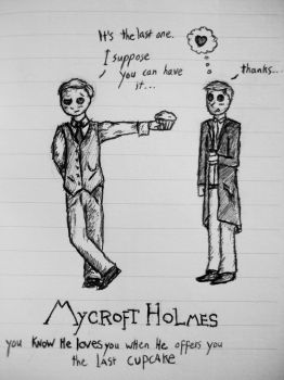 Mystrade doodle by QuirinusQuirrell