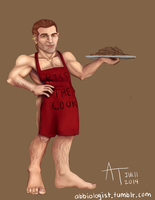 Varric and Cookies by abbi-ologist