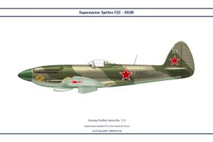 Fantasy 113 Spitfire 22 USSR by WS-Clave