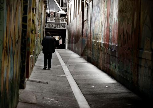 Union Lane Melbourne by djdeluxe