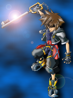Dark Sora by BuD-bUd