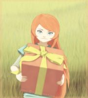 Happy Birthday Kushina by sarroora