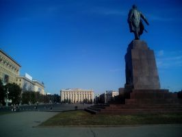 Freedom Square in Kharkiv by FCSD