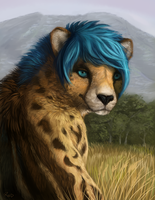 Commission: Kyecougar by rajewel