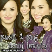 Pack PNG Demi Lovato by SamMoya