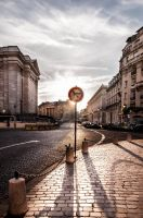 Street in Paris by Cahharin