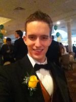 Myself at the Junior Prom. by Mike-The-Winner