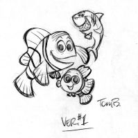 Nemo Cover sketches pt1 by tombancroft