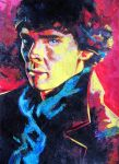 Benedict Cumberbatch - Sherlock Collage by WolfHowl10