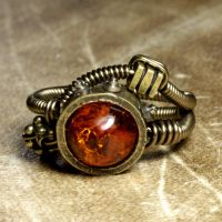 Steampunk Artifact Ring by CatherinetteRings