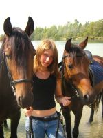 with my horses 2 by Promiseoftheraven