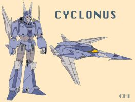 Cyclonus Redesign by cwmodels