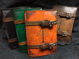 Leather Lord Of The Rings book cover by Skinz-N-Hydez