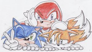 Team Sonic by ChaosAngel5