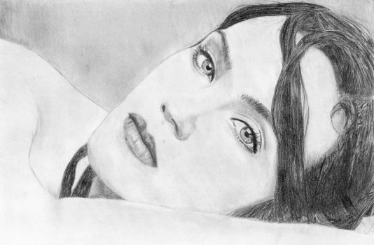Jennifer Connelly portrait by Cast-al-ia