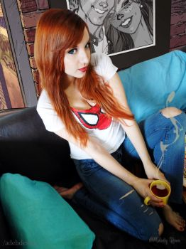 Mary Jane Watson Cosplay 2 by MelodyxNya