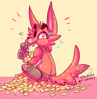 Chocolate coins by Gheistly