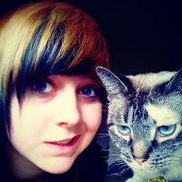Me and my cat cx by Thegirlscx