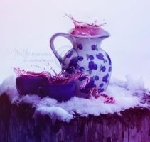 Cold Winter Tea by melilotmaranwe
