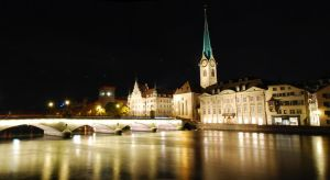 Zurich At Night by Jointor
