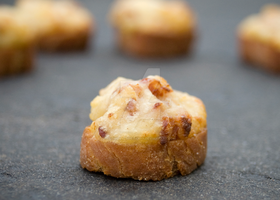 Cheese Toasted Canapes by iconsPhotography
