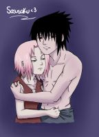 She'smine  sasusaku by polale21