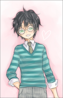 HP: Happy Harry by bone-kun
