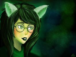 Daily Homestuck #2- Jade Harley by mell1you0
