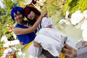 Magi - Judal love to photobomb aladdin pictures by visuvampy