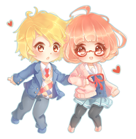 Kyoukai no Kanata by oWinTer