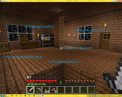 Minecraft House - Main Room by Seraphiima-Stables