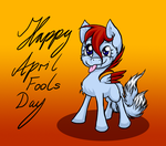 Happy April Fools' Day! by SilverWolfEye