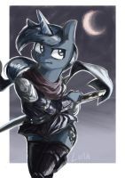 The warrior luna by Magiace