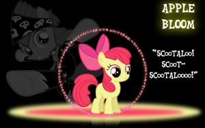 Applebloom Wallpaper by PCS4DDT
