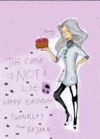 Happy Birthday Twinkle by Hajare