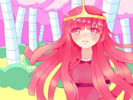 Princess Bubblegum by Poyura