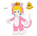 My Cat Peach Drawing by airbornewife71