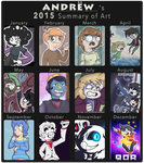 D-Andrew 2015 Summary of Art by Mental-D-Andrew