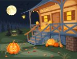 Halloween night by Naddiya