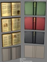 Low Poly Books by ezjamin