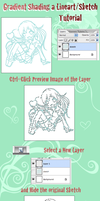 Gradient Lineart Tutorial by kuramachan